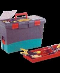 """Εργαλειοθήκη Πλαστικό Κούμπωμα 20"""" Με Δίσκος Και Επεκταση"""