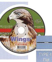 Τροχός Κοπής Μαρμάρου Wings 230Mm X 3 X 22 Flat
