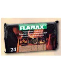 Προσάναμα Eco Σε Σακούλα 100 Τεμαχίων Flamax