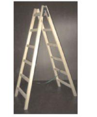 Σκάλα Ξύλινη 1.75M Με 5 Σκαλοπάτια