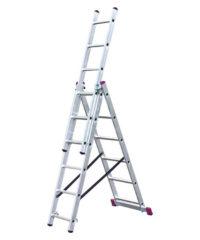 Σκάλα Αλουμινίου Πολυμορφική 8,12m x 11 Σκαλοπάτια