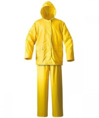 Κίτρινο Αδιάβροχο Κοστούμι - Νιτσεράδα Rambo, Μεγέθους L