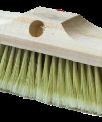 Βούρτσα Βαφής Ξύλινη Με Άσπρη Τρίχα BW103 Brush Wood