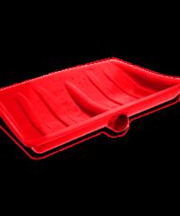 Φτυαρια Χιονιου Β.Τ. Εγχωρια Κοκκινα  35Cmx45Cm