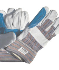 Γάντια Δερμάτινα Πράσινα Ενισχυμένα