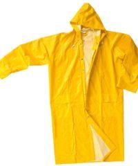 Κίτρινη Αδιάβροχη Καμπαρντίνα - Νιτσεράδα Μεγέθους Χl