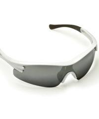 Γυαλιά Ηλίου Γκρι Με Καθρέφτη Και Άσπρο Σκελετό Maco