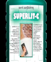 Superlit - C 20Ltπλαστικοποιητικό Κονιαμάτων. Το Superlit-C Αντικαθιστά Τον Ασβέστη. Είναι Ένα Άριστο Πλαστικοποιητικό Και Επιβραδυντικό Πήξης Των Κονιαμάτων Για Σοβά, Κτίσιμο, Διαστρώσεις Και Πλακοστρώσεις. Παρέχει Στα Τσιμεντοκονιάματα Όλα Τα Πλεoνεκτήμ